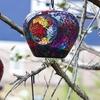 Hanging Apple-Shaped Mosaic Feeder Set (3-Piece)