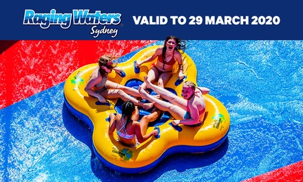 Raging Waters Sydney: Choice of Day Pass or Unlimited Entry with Season Pass