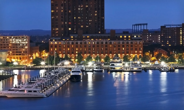 Royal Sonesta Harbor Court Baltimore - Otterbein: One-Night Stay with Parking at Royal Sonesta Harbor Court Baltimore in Baltimore, MD