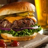Menú de hamburguesa XXL