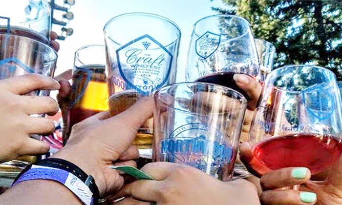 The Craft Winefest of Vancouver - Esther Short Park: $39 for Two Weekend Passes to the The Craft Winefest of Vancouver on June 10–12 ($50Value)