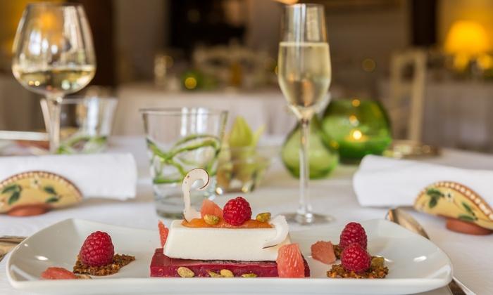 Auberge de Cassagne et Spa - Le Pontet-Avignon: Déjeuner gastronomique concocté par le chef Philippe Boucher et accès au spa à 138 € pour 2 à l'Auberge de Cassagne