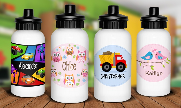 Personalised Kids Drink Bottle One 15 Two 29 Or Three 43 Don T Pay Up To 89 97
