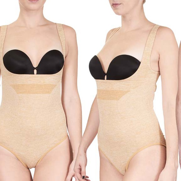 5838a21a64df3 FIX SHAPEWEAR Seamless Extreme Control Bodysuits. Plus Sizes Available