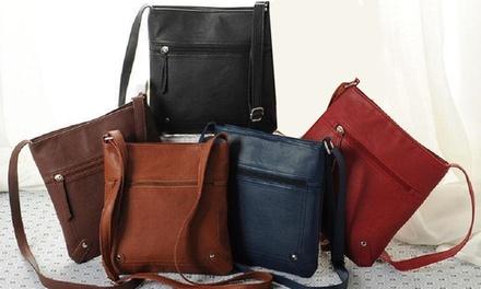 Cross-Body Satchel Bag