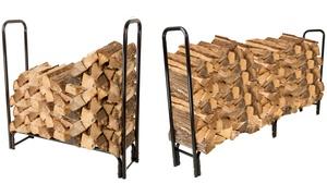 Outdoor Firewood Log Racks