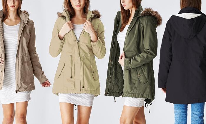 Cotton Parka Jacket
