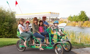 Wheel Fun Rentals Segway and Bike Rentals: Guided Bike Tours or $30 or $60 Worth of Bike or Boat Rentals from Wheel Fun Rentals (50% Off)