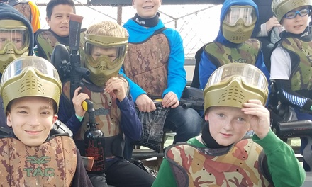 Admission for Four, Six, or Twelve for Low Impact Paintball from Paintball Tickets (Up to 81% Off)