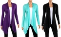 2-Pack Women's Draped Cardigan