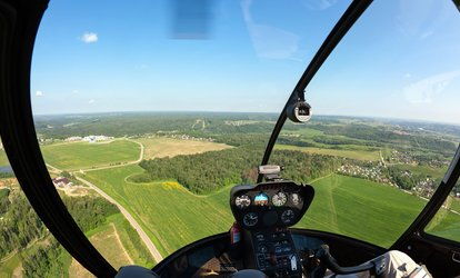 image for Helicopter Flight Simulator Experience for Up to Three at Challenger Helicopters (80% Off)