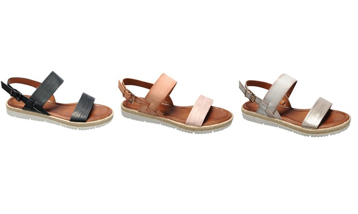 Mata Women's Comfy Flat Fashion Sandals with Straps