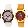 Crayo Slice Of Time Ladies' Pie Dial Watch