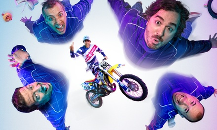 Trutv S Impractical Jokers Live Nitro Circus Spectacular