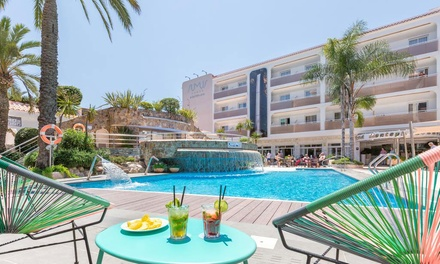 ✈ Costa Brava: 3 to 7Night Stay on Half Board at the 4* Sumus Hotel Monteplaya with Flights, Meals and Wine*