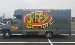 Up to 31% Off Airport Parking (EWR) at Jiffy Airport Parking, plus 6.0% Cash Back from Ebates.