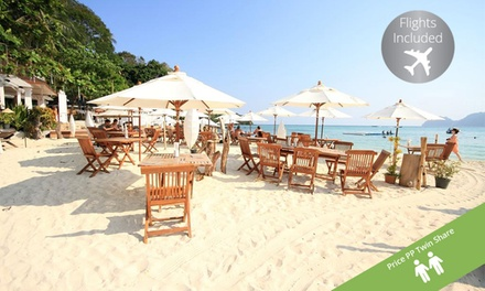 Phuket and Phi Phi Island: Per Person for a EightNight Thailand Escape with Flights and Breakfast