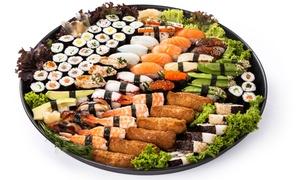 Ichiban Sushi: 30-, 60-, 83- oder 98-teilige Sushi-Platte für zwei bis acht Personen bei Ichiban Sushi (bis zu 40% sparen*)