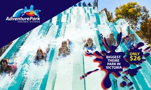 Adventure Park Geelong: Adventure Park Geelong: $26 for Day Entry with Unlimited Rides to Victoria's Biggest Theme Park (Up to $42 Value)