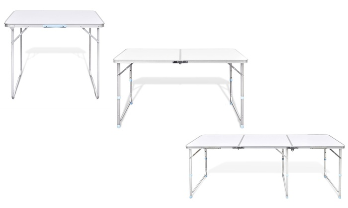 Faltbarer Campingtisch.Faltbarer Campingtisch Mit Griff Groupon Goods