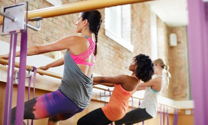 Five Barre <strong>Classes</strong> or a Month of Unlimited Barre <strong>Classes</strong> at Barrebelle <strong>Fitness</strong> Studio (Up to 62% Off)