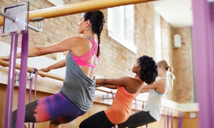Pure Barre   - Carrollwood: 5 or 10 Ballet-Inspired Fitness Classes at Pure Barre (51% Off)