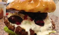 Beef Burger with Choice of Topping and Side for Up to Four at Burgerworks (Up to 56% Off)