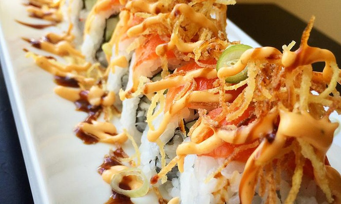 Rockn' Rolls - James Bay: Sushi for Two or Four at Rockn' Rolls (Up to 30%)