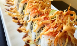 Rockn' Rolls: Sushi for Two or Four at Rockn' Rolls (Up to 30%)