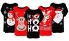T-shirt da donna a tema natalizio