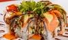 25% Cash Back at Rock N Roll Sushi