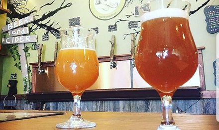 Beer and Cider Education Tasting Class for One, Two, or Four at Po'Boy Brewery (Up to 58% Off)