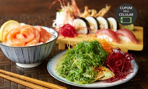 San Sushi Japonese Food: San Sushi – Batel: rodízio japonês completo para 1 ou 2 pessoas