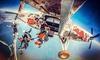 Sky Camp Spadochronowy Klub Sportowy - Wiele lokalizacji: Skok ze spadochronem w tandemie dla 1 osoby od 659,99 zł w Sky Camp Spadochronowym Klubie Sportowym – 2 lokalizacje