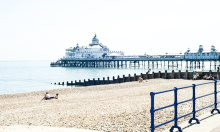 Eastbourne: 1 or 2 Nights for Two with Breakfast and Late Check-Out at Shore View Hotel