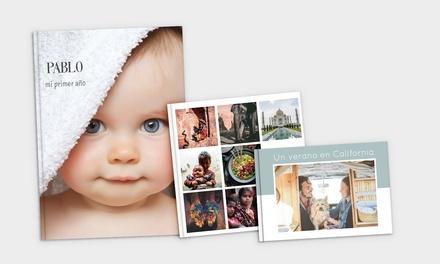 Foto-álbum personalizable en formato, medidas y cantidad de páginas a elegir desde 3,90 € con Alboomaker