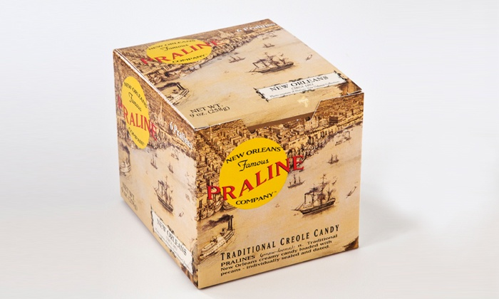 New Orleans Famous Praline Company: Two or Four Boxes of Six Original Pralines from New Orleans Praline Company (44% Off)