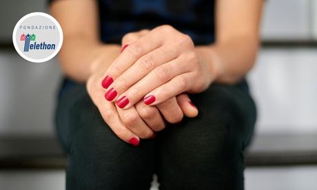 3 o 5 manicure con applicazione di smalto semipermanente al salone Estetica Matrioshka (sconto fino a 83%)