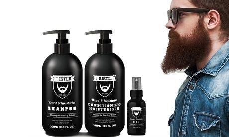 Set de cuidado para la barba con opción a accesorios Bristlr