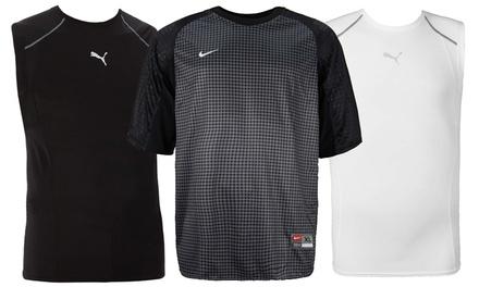 T-shirt sportive Diadora, Puma o Nike disponibili in 2 colori e diverse taglie