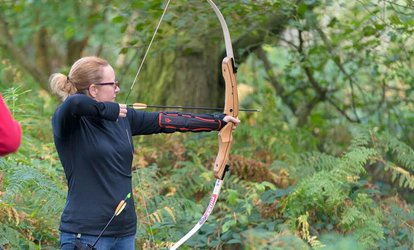 image for 90-Minute Target or Woodland Archery or Air Rifle Shooting for Up to Six at Elsham Activity Centre (Up to 54% Off)