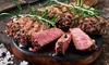 3 Gänge mit Fisch oder Fleisch