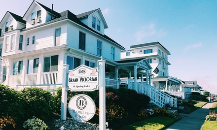 1- or 2-Night Stay for Two at The Grand Victorian Hotel at Spring Lake, NJ. Combine Up to 10 Nights.