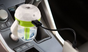 XIT Mini Car Aromatherapy Humidifier with USB Charging Port
