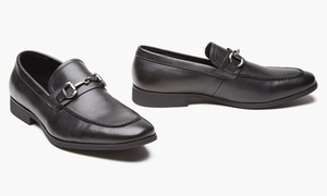 Unlisted by Kenneth Cole Men's Loafers with Buckle(10 & 10.5)