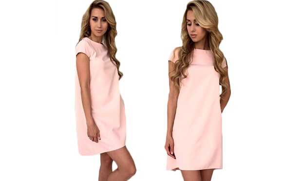 Round Neck Formal Dress: One ($16) or Two ($25)