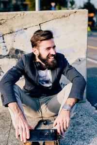 """Basic-Maßkonfektions-Jackett """"Harris Tweed"""" für Sie oder Ihn bei JO FREYHERR Herrenmaßkonfektion (bis zu 54% sparen*)"""