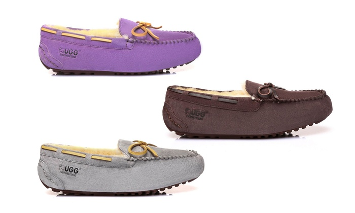 Ever UGG Water-Resistant Moccasins ...