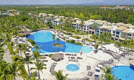 All-Inclusive Stay at 5-Star Ocean Blue & Sand in Punta Cana, Dominican Republic. Airfare nit Included