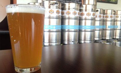 Flight and Pint for One, Two, or Four People at Falling Down Beer Company (Up to 38% Off)